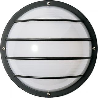 2 Light Poly Round Cage Wall/Flush