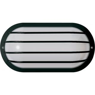 1 Light Poly Oval Cage Wall/Flush