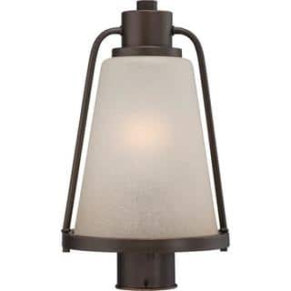 Nuvo lighting outdoor lighting for less overstock tolland led outdoor post aloadofball Image collections