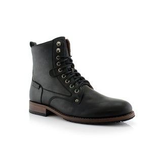 Polar Fox Curry MPX808580 Men's Combat Boots For Work or Casual Wear (More options available)
