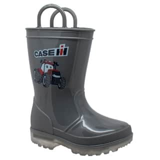 Toddler's PVC Boot with Light-Up Outsole Grey|https://ak1.ostkcdn.com/images/products/17631795/P23846323.jpg?impolicy=medium
