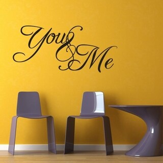 You and Me Wall Vinyl