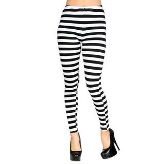 Women's Funky Multi-Patterned Stretchy Full-Length Leggings