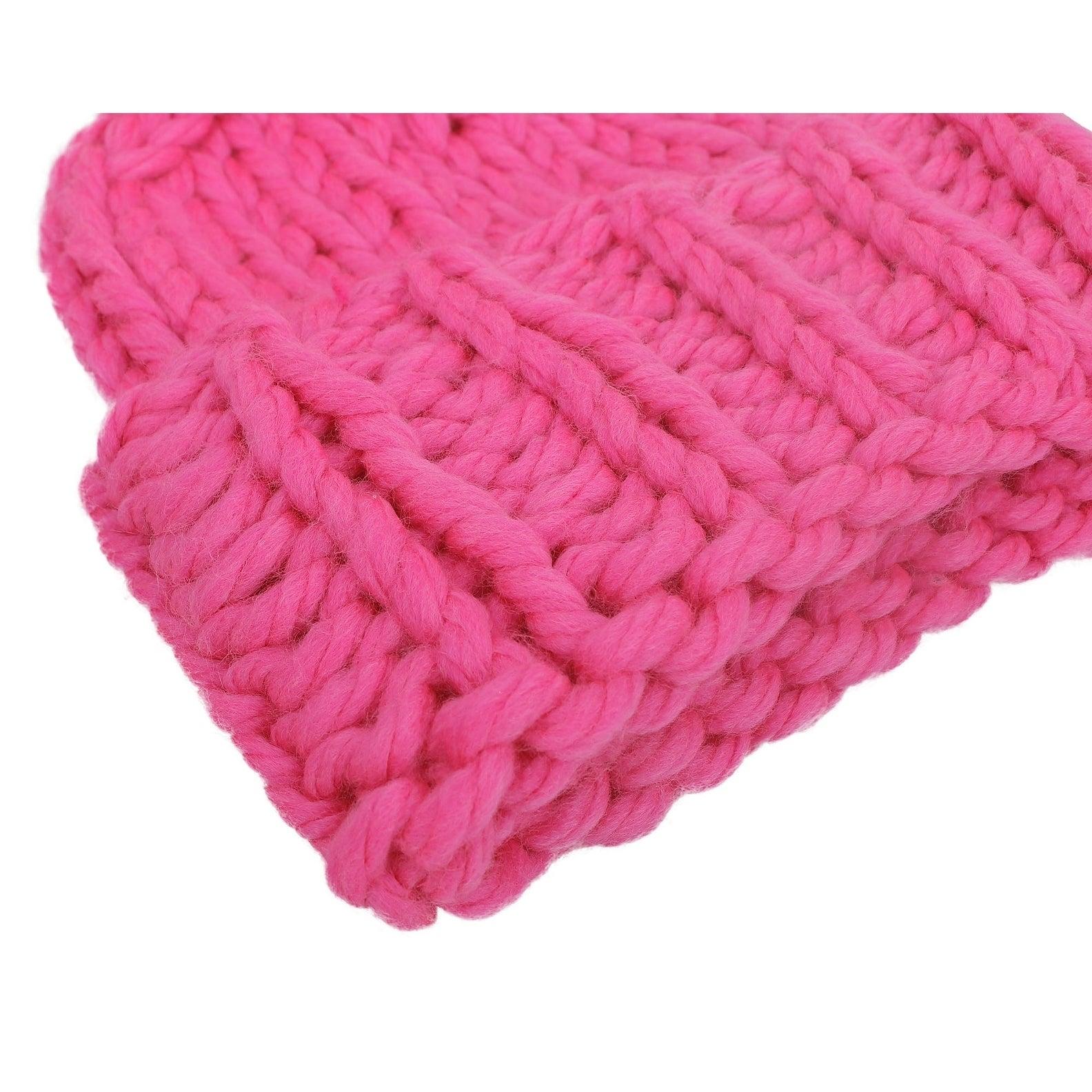 d21275c3b939f8 Arctic Paw Women's Super Soft Chunky Cable Knit Pompom Beanie | eBay