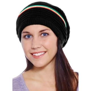 Link to Simplicity Thick Knitted Slouchy Winter Beanie Hat Similar Items in Gloves