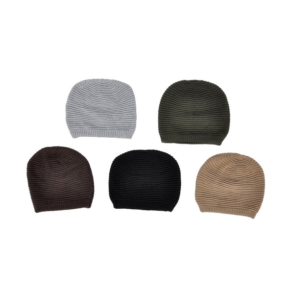 Simplicity Women's Thick Knitted Slouchy Winter Beanie Hat