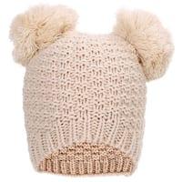 Simplicity Women's Cute Knit Fuzzy Pompom Winter Beanie Hat