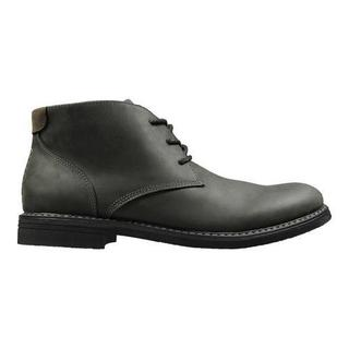 Men's Nunn Bush Lancaster Chukka Boot Black Oiled Leather