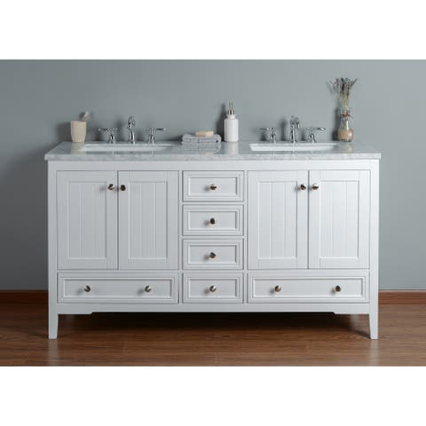 Buy 60 Inch Bathroom Vanities Vanity Cabinets Online At Overstock