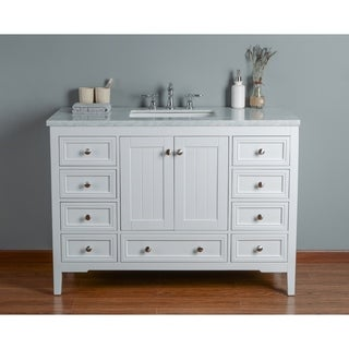 buy 48 inch bathroom vanities vanity cabinets online at overstock rh overstock com