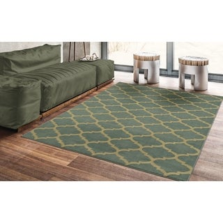 "Sweet Home Stores Clifton Collection Moroccan Trellis Area Rug 5'X7' - 5'3"" x 7'"