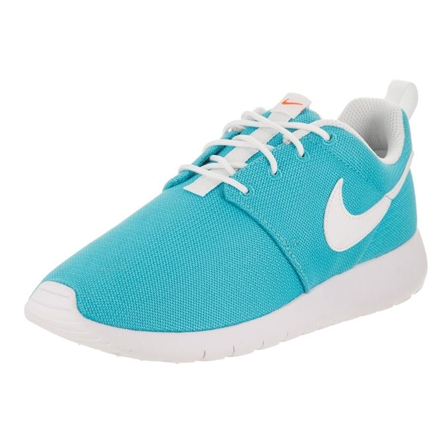 Nike Kids Roshe One (GS) Running Shoe (6), Boy's, Blue (S...
