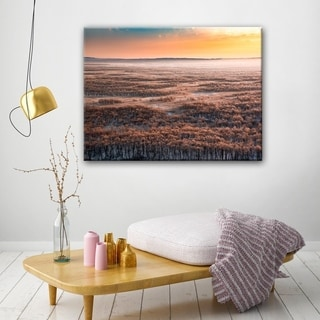 Dawn' Scenic Wrapped Canvas Wall Art