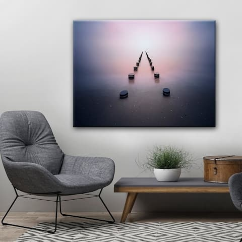 Alone in the Silence' Wrapped Canvas Wall Art