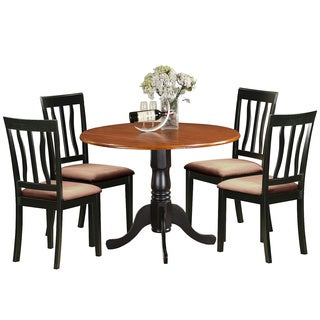 DLAN5-BCH Dining set - 5 Pcs with 4 Wooden Chairs