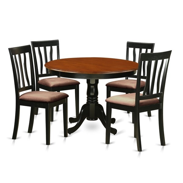 Cheap Dinette Sets Free Shipping: Shop HLAN5-BCH 5 Pc Set With A Dining Table And 4 Dinette