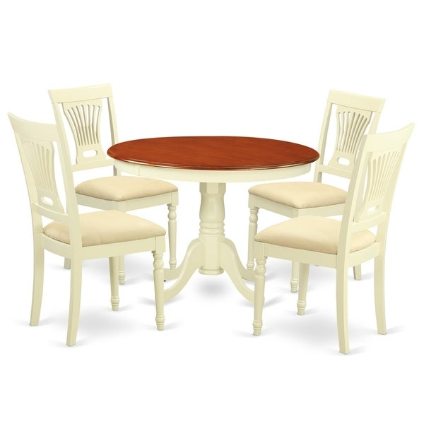 Cheap Dinette Sets Free Shipping: Shop HLPL5-BMK 5 Pc Set With A Dining Table And 4 Dinette