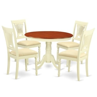 HLPL5-BMK  5 Pc set with a Dining Table and 4 Dinette Chairs