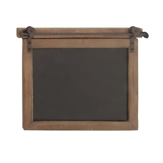 Studio 350 Wood Metal Chalkboard 21 inches wide, 17 inches high