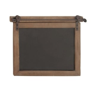 Clay Alder Home Hueguenot Wood Metal Chalkboard 21 inches wide, 17 inches high