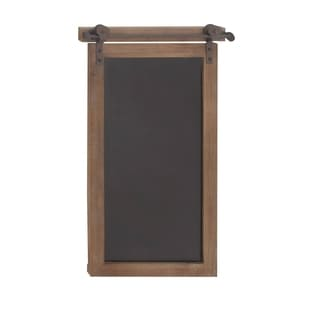 Studio 350 Wood Metal Chalkboard 16 inches wide, 28 inches high - Thumbnail 0