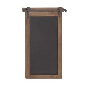 Clay Alder Home Hueguenot Wood Metal Chalkboard