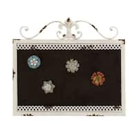 Maison Rouge Lamartine Metal Magnet Board 22 Inches Wide, 19 Inches High