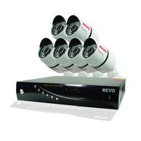 T-HD 8 Channel DVR HD Security System with Bullet Security Cameras