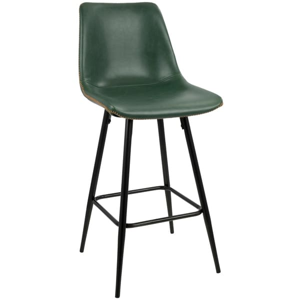 "Durango 26"" Counter Stool with Vintage Faux Leather (Set of 2)"