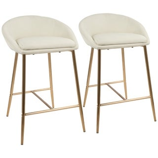 "Matisse 26"" Glam Counter Stool (Set of 2)"
