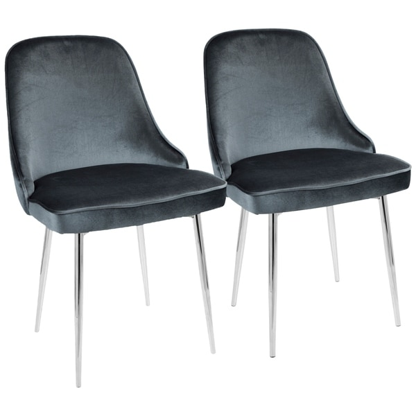 LumiSource Marcel Contemporary Dining Chair (Set of 2)  sc 1 st  Overstock.com & Shop LumiSource Marcel Contemporary Dining Chair (Set of 2) - Free ...