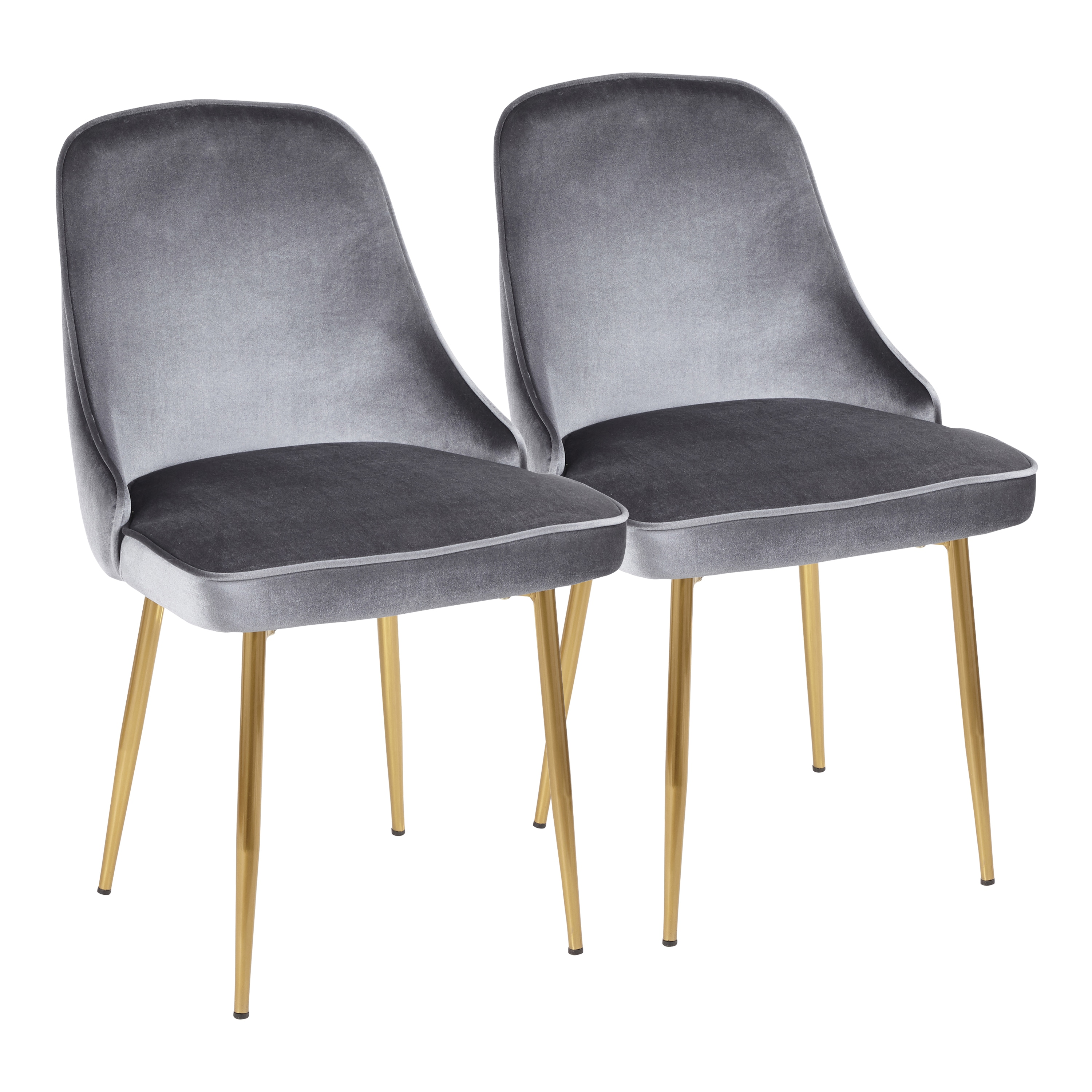 designer fashion 36ac7 451c4 LumiSource Marcel Contemporary Dining Chair (Set of 2)