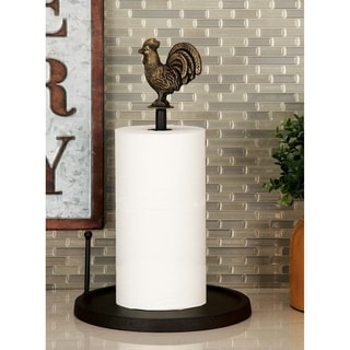 Studio 350 Metal Paper Towel Holder 10 inches wide, 15 inches high