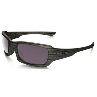 Oakley Fives Squared Polarized Woodgrain/Prizm Daily Unisex Sunglasses - OO9238-923819