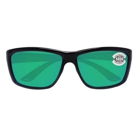 Costa Del Mar Mag Bay Polarized Shiny Black Sunglasses - AA-11-OGMGLP