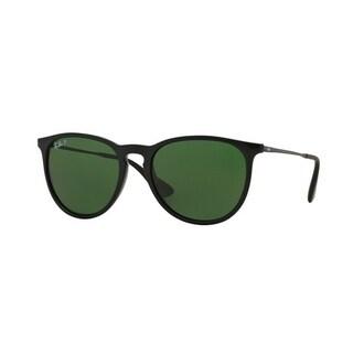 Ray-Ban Erika Classic Black Polarized Sunglasses RB4171-601/2P-54