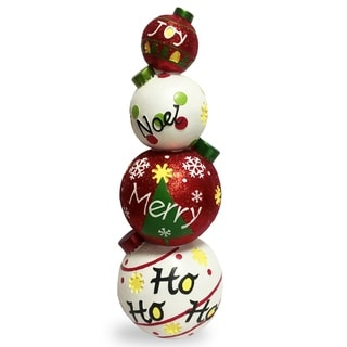 "Link to 33"" Stacked Ornaments Similar Items in Christmas Decorations"