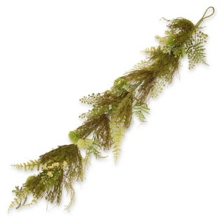 "45"" Garden Accents Fern and Lavender Garland"