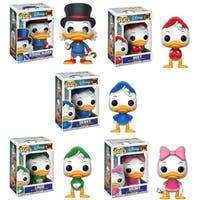 Funko POP! Disney DuckTales Collectors Set; Scrooge McDuck, Huey, Dewey, Louie, Webby