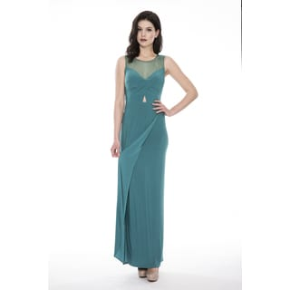 Decode 1.8 Beaded V-Neck Prom Dress
