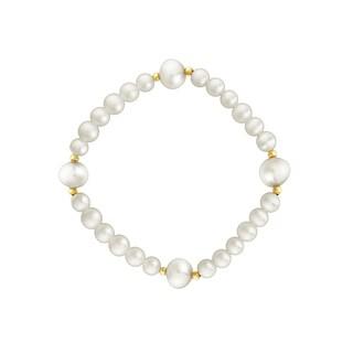 Pearlyta 14K Gold Baby Bracelet