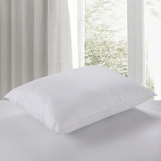 Nanofibre 400 Thread Count Water and Stain Resistant Dobby Bed Pillow - White
