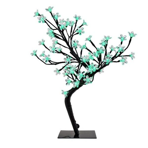 "River Of Goods 20"" High LED Cherry Blossom Tree (Green), ..."