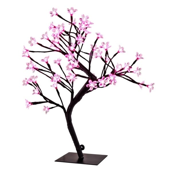 "River of Goods 20"" High LED Cherry Blossom Tree (Pink), B..."