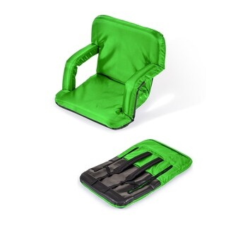 Portable Multiuse Adjustable Recliner Stadium Seat by Trademark Innovations (Lime)