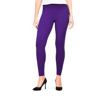 G21 Women's Deep Purple Basic Legging