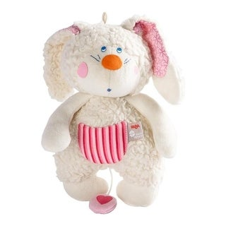 HABA Pure Nature Organic Benji Bunny Musical Plush Toy