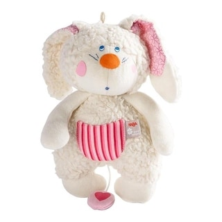 HABA Pure Nature Benji Bunny Musical Plush Toy