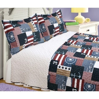 For the Admiral 3-piece Quilt Set