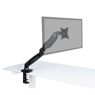 Single Arm Gas Spring 17 - 27-inch Monitor Stand